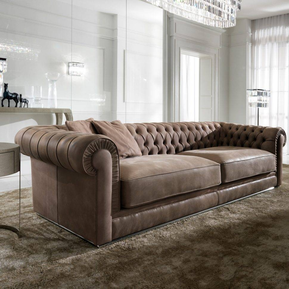 Sofas Center : Chesterfield Tufted Sofa High End Upholstered for High End Sofa (Image 25 of 30)