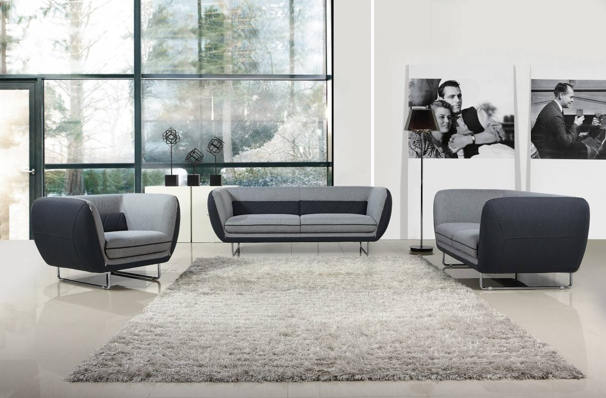 Sofas Center : Coaster Kelvington Grey Fabric Chair Steal Sofa Set inside Contemporary Fabric Sofas (Image 30 of 30)