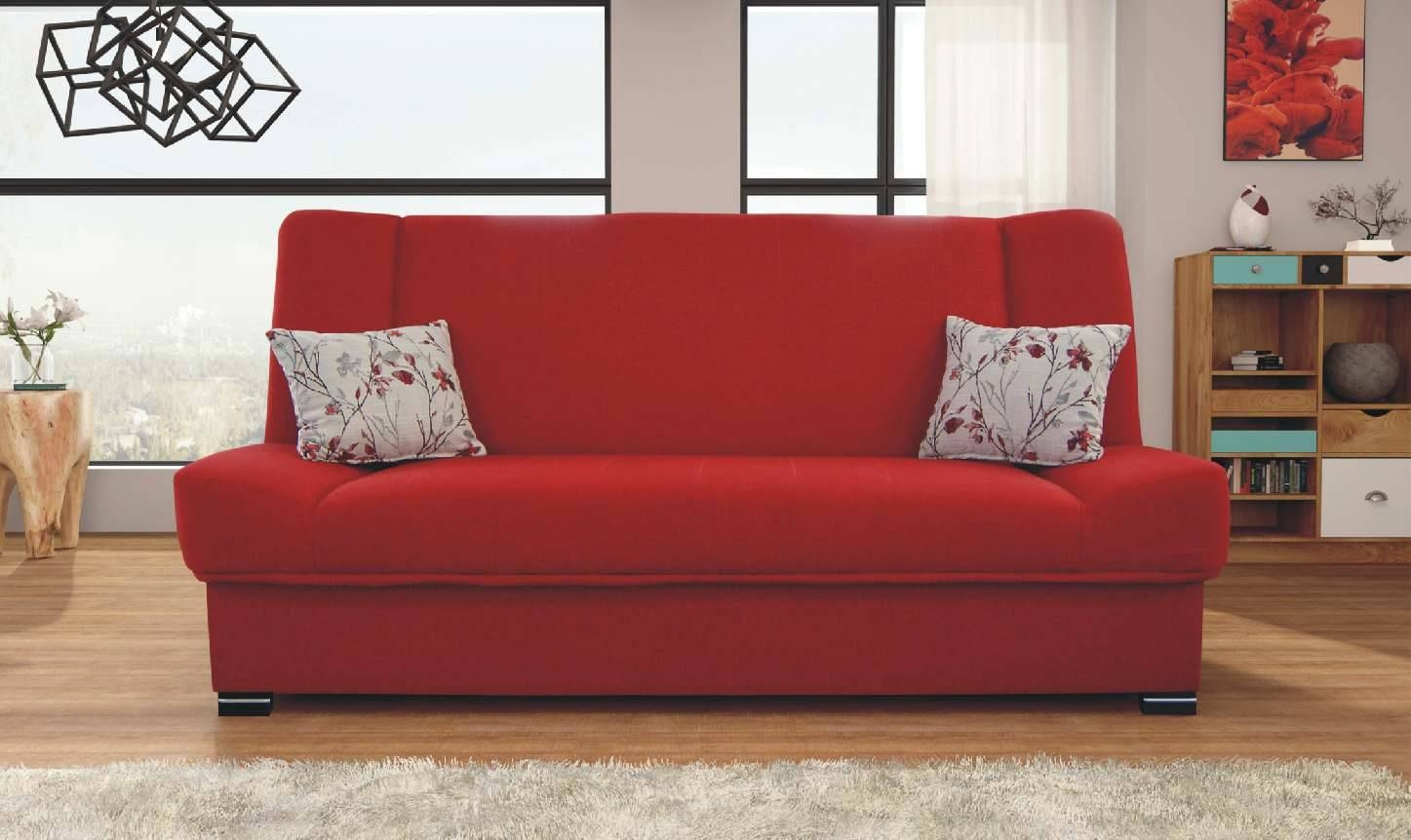 Sofas Center : Connal Sofa Bed Red Openacme Remarkable Reda inside Red Sofa Chairs (Image 28 of 30)