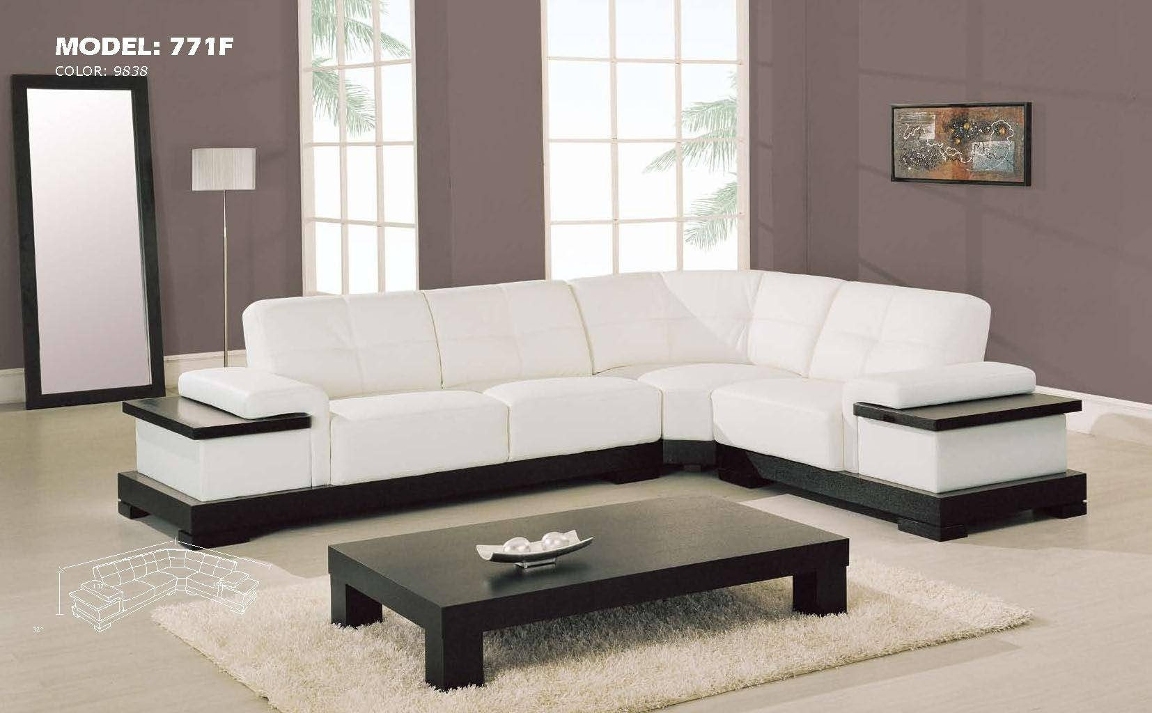 Sofas Center : Contemporary Leather Sofa Modern Furniture in Modern Sofas Houston (Image 21 of 30)