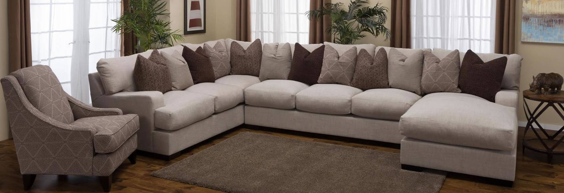 Sofas Center : Dark Grey Sectional Couches Homelegance Keamey with Huge Sofas (Image 25 of 30)