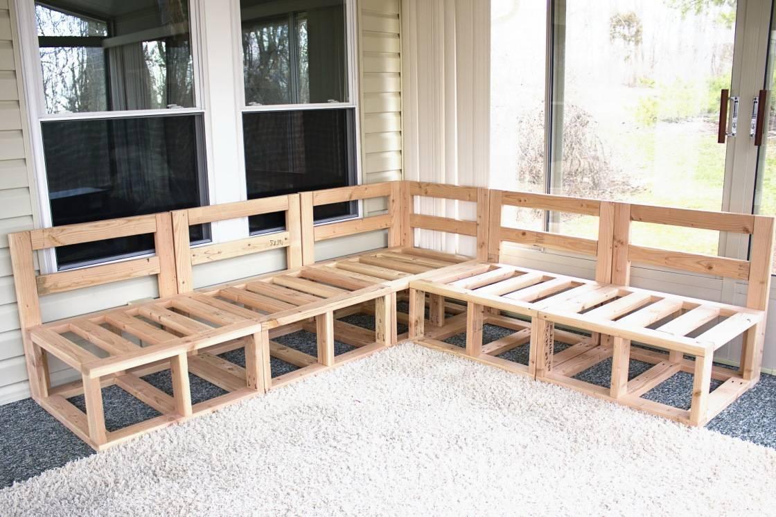 Sofas Center : Diyonal Sofa Cover Pallet Plans Wood Plansdiy Frame with Diy Sofa Frame (Image 24 of 30)