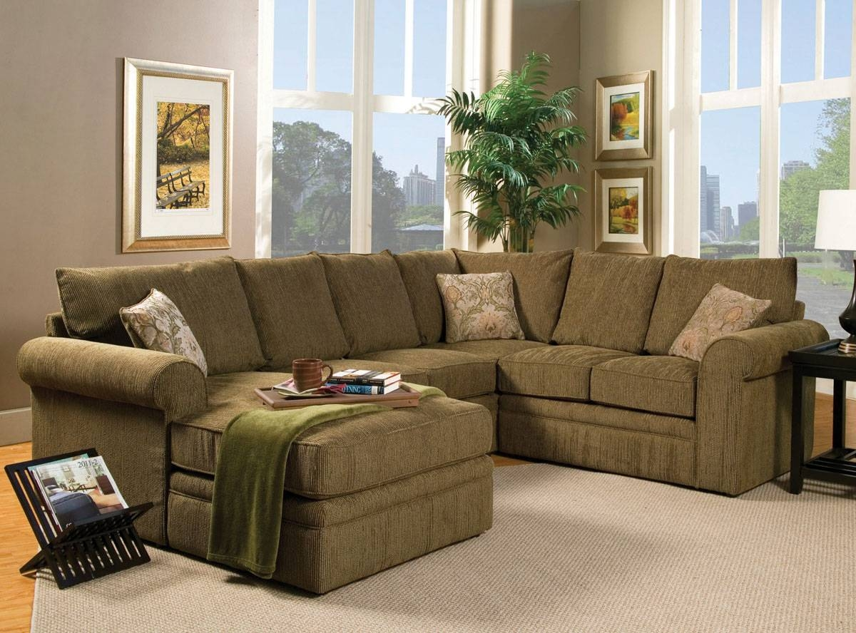 Sofas Center : Excellent Green Sectionalfa Photos Inspirations for Green Sectional Sofa With Chaise (Image 26 of 30)