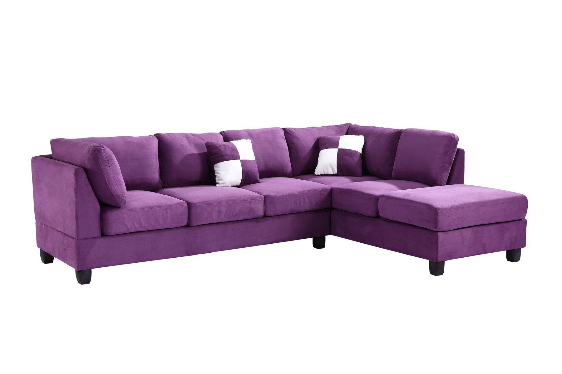 30 Inspirations of Eggplant Sectional Sofa