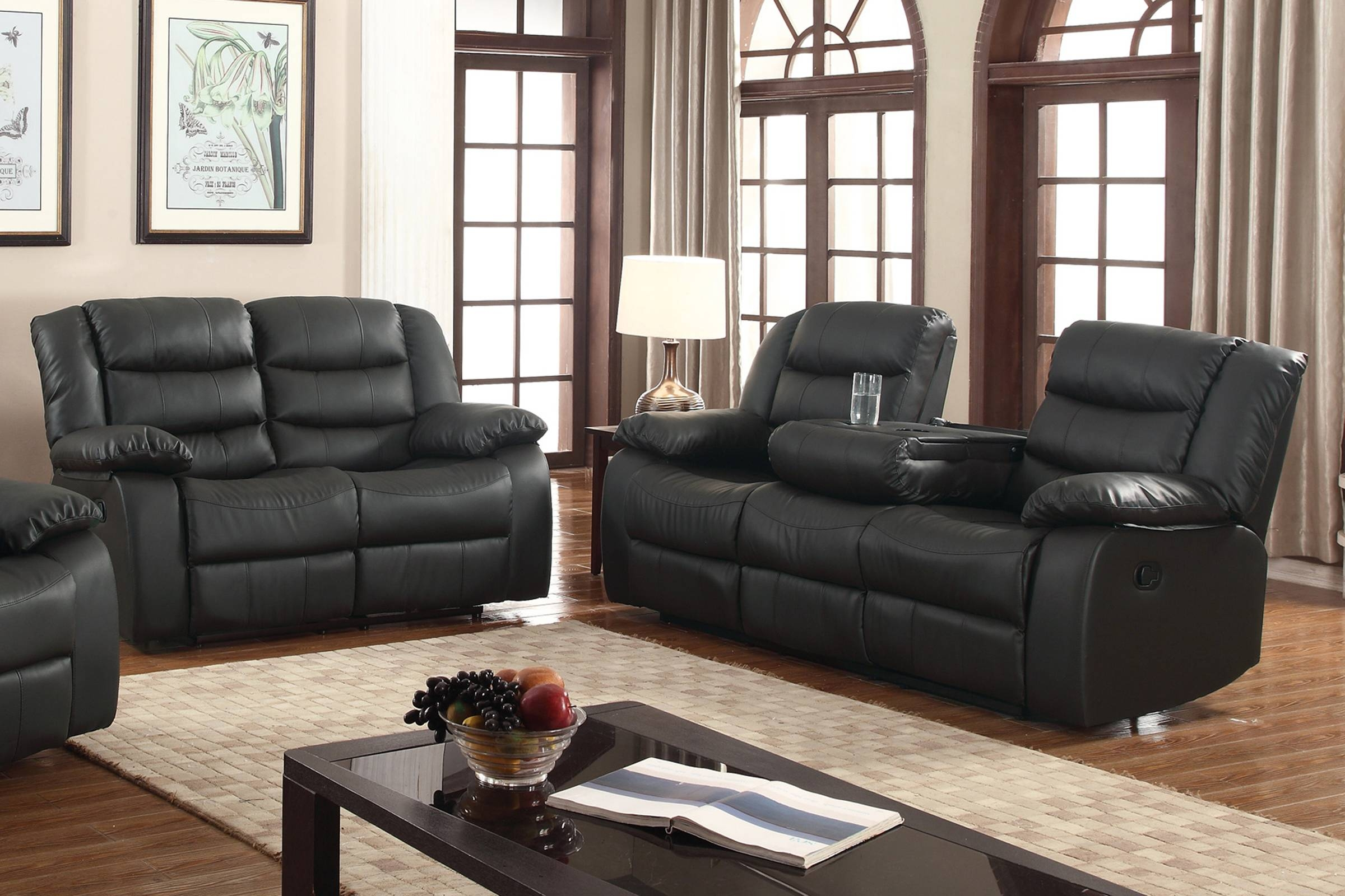 Sofas Center : Excellent Sofa And Recliner Sets Picture Concept With Jedd Fabric Reclining Sectional Sofa (Image 29 of 30)