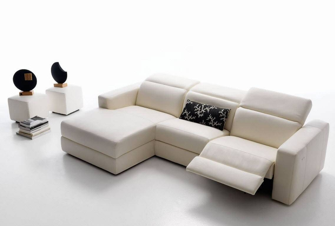 Sofas Center : Exceptional Contemporary Reclining Sofa Pictures pertaining to Modern Reclining Leather Sofas (Image 23 of 30)