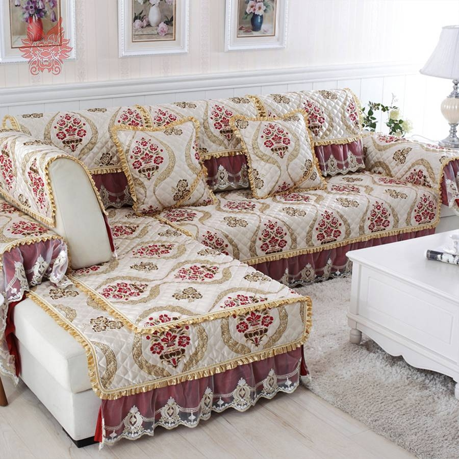 Sofas Center : Floral Sofa Covers Clearance Red Throw Fitted throughout Clearance Sofa Covers (Image 21 of 30)