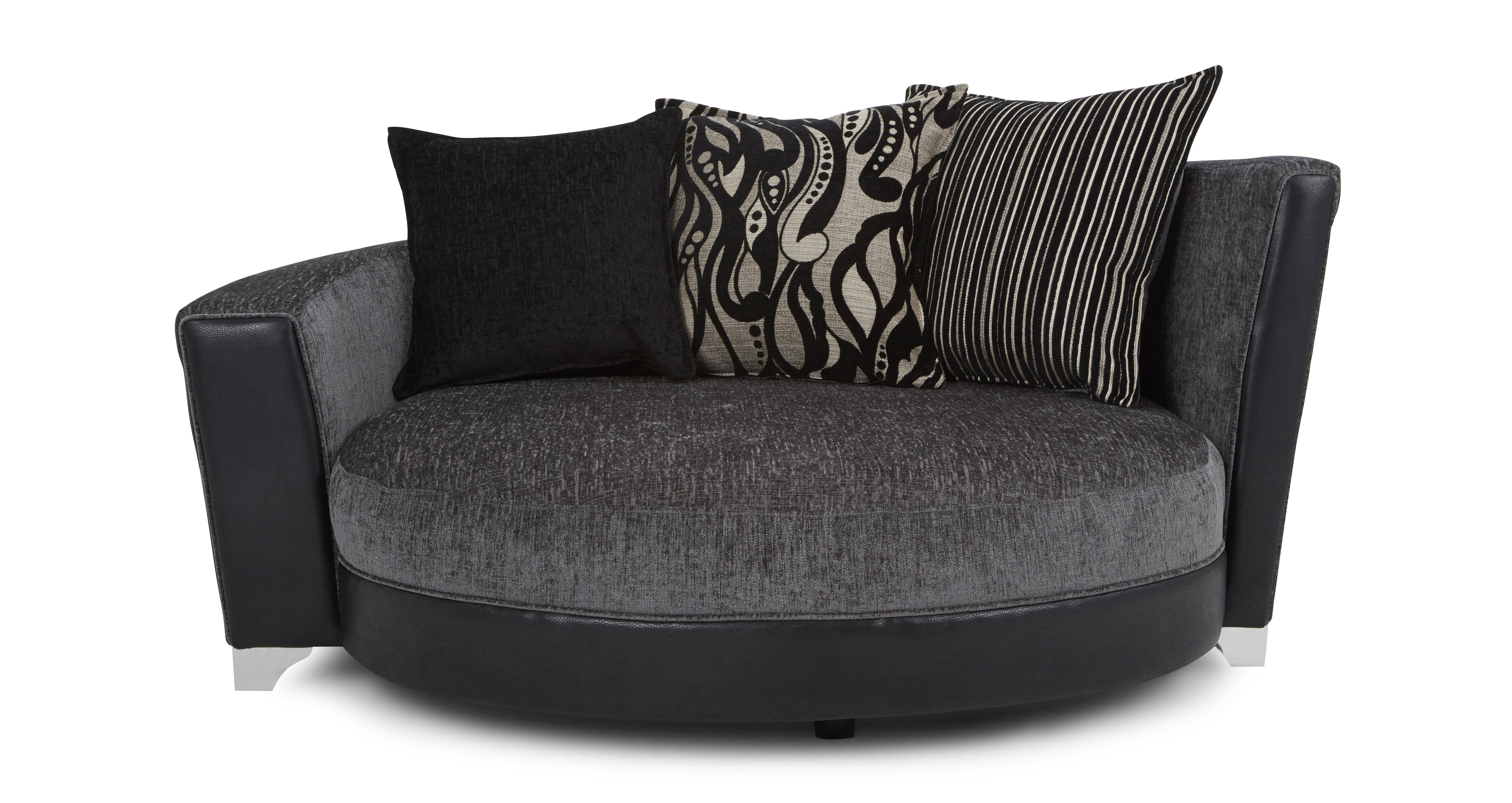 Sofas Center : Formidable Swivel Sofa Chair Picture Concept regarding Chair Sofas (Image 19 of 30)