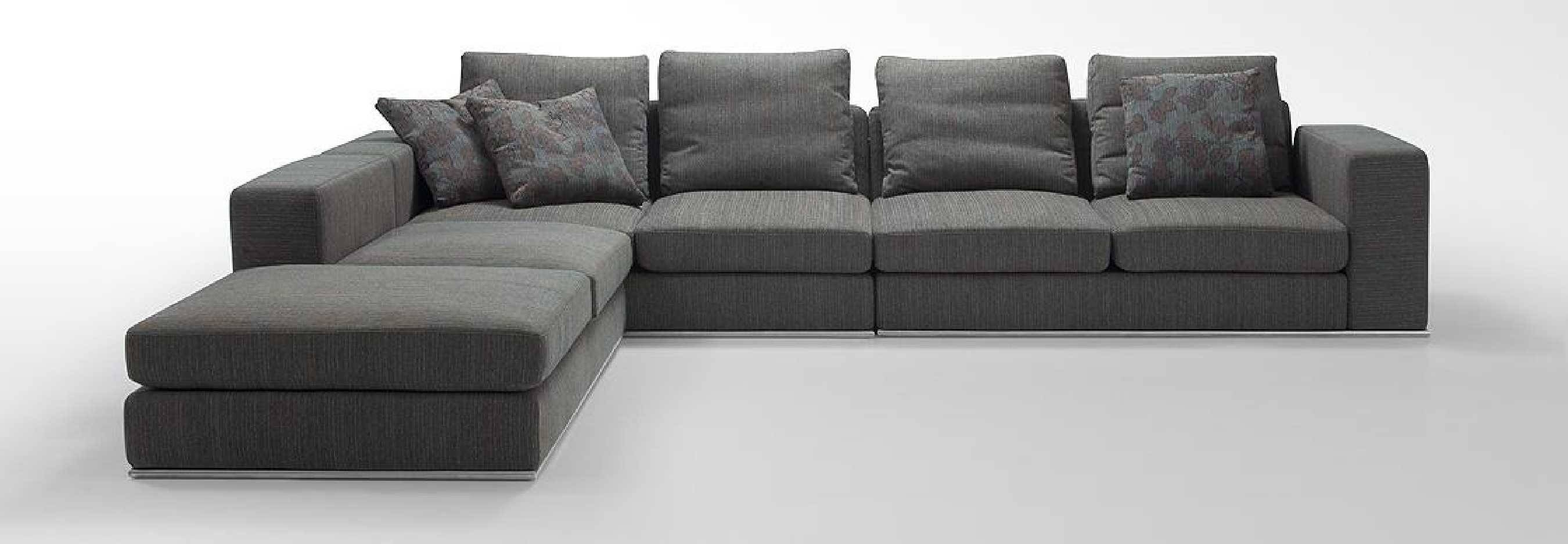 Sofas Center : Grey Sectional Sofa With Chaise Furniture L Shaped with regard to L Shaped Fabric Sofas (Image 25 of 30)