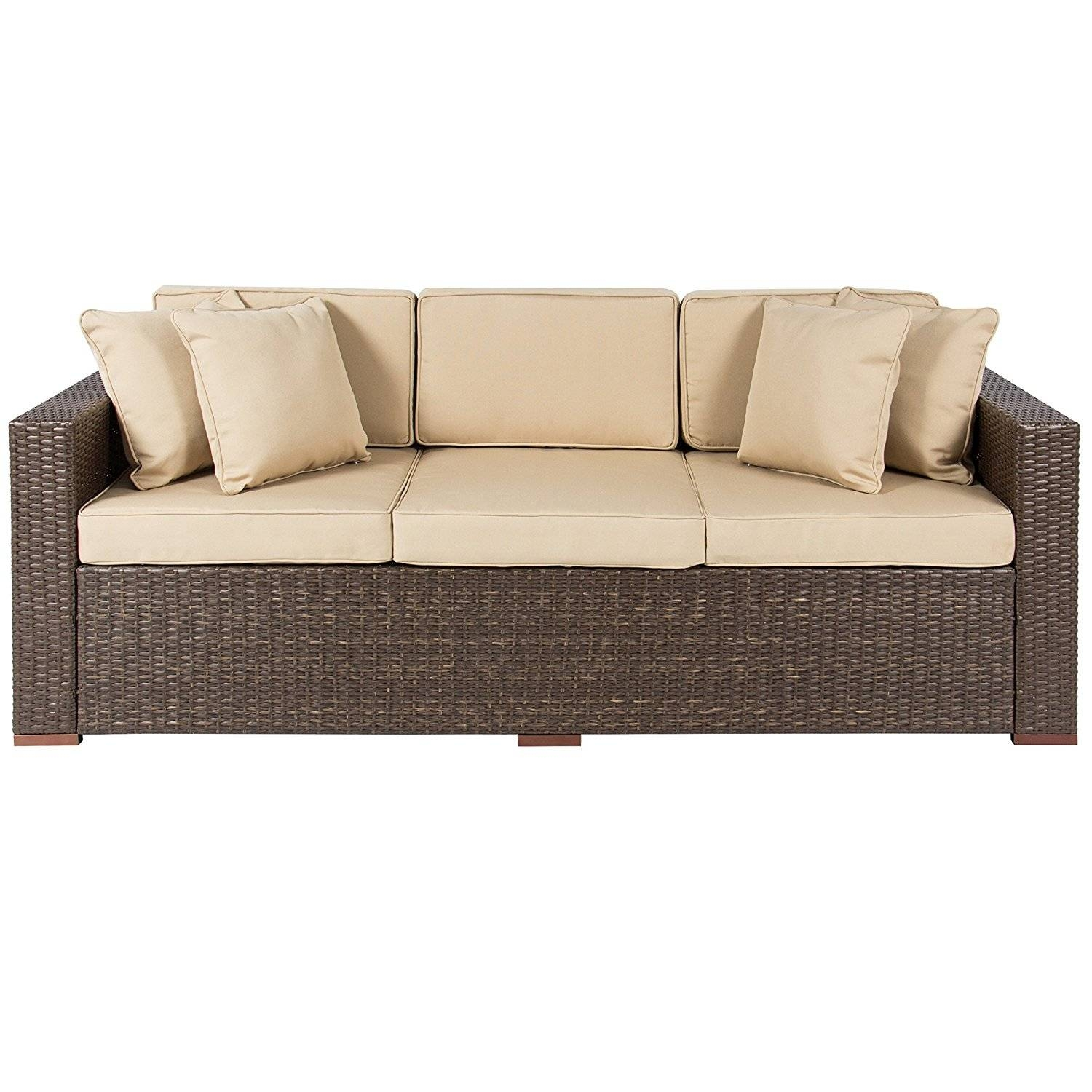 Sofas Center : H0117Us Nv07 Wicker Outdoor Sofa Table Sets Bodega inside Patio Sofa Tables (Image 28 of 30)