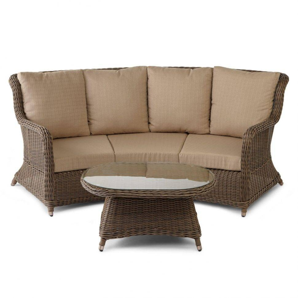 Sofas Center : H0117Us Nv07 Wicker Outdoor Sofa Table Sets Bodega intended for Patio Sofa Tables (Image 29 of 30)
