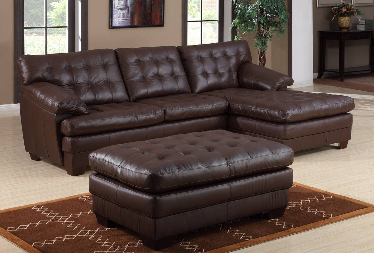Sofas Center : Heectectionalofa Brown Homelegance Besty Modularet for Chenille And Leather Sectional Sofa (Image 26 of 30)