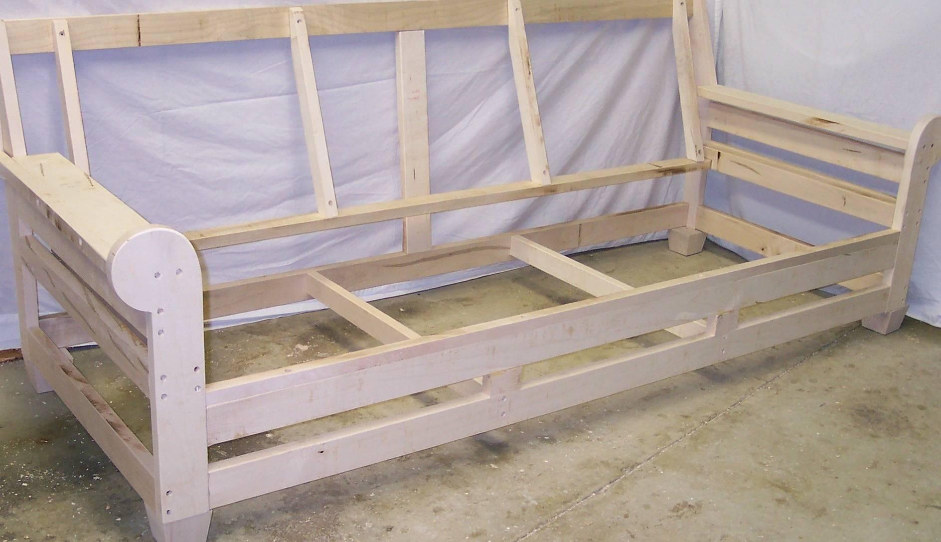 Sofas Center : How Touild Sofa Diy Simple Couch Make And For regarding Diy Sofa Frame (Image 26 of 30)