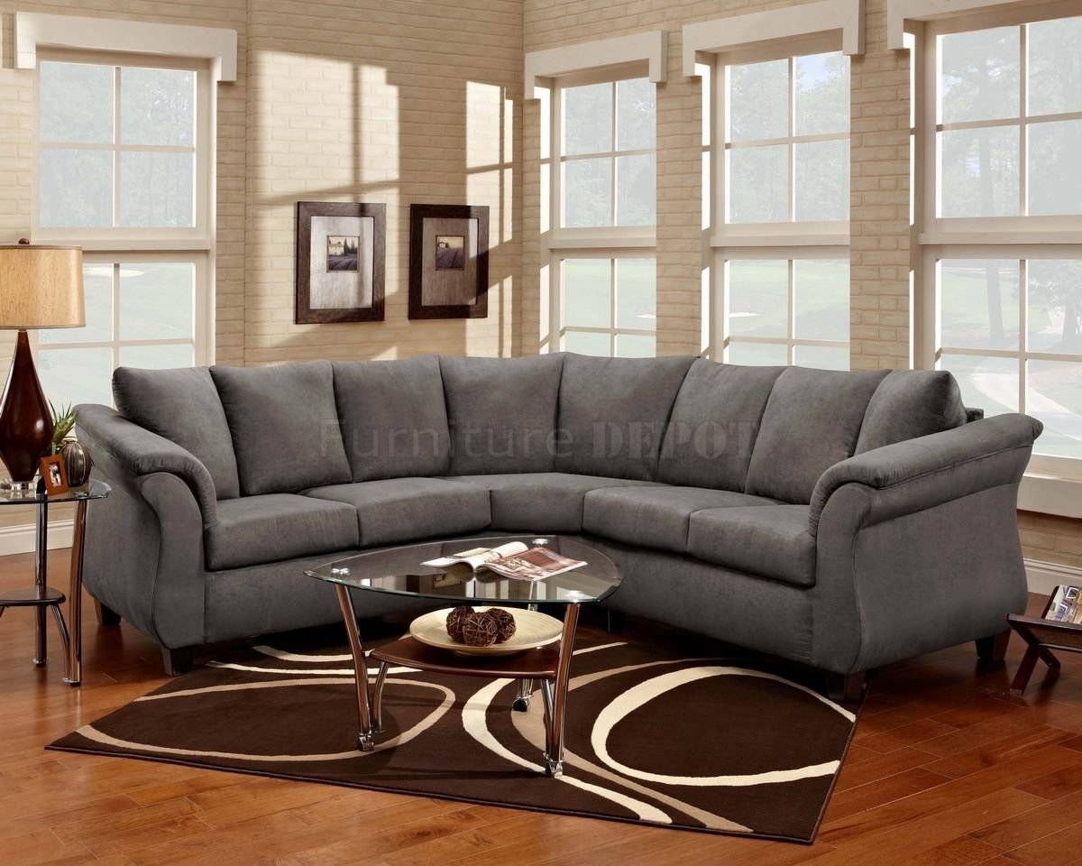 Sofas Center : Image 1280X880 Fabric Sectionals Microfiber in Microsuede Sectional Sofas (Image 26 of 30)