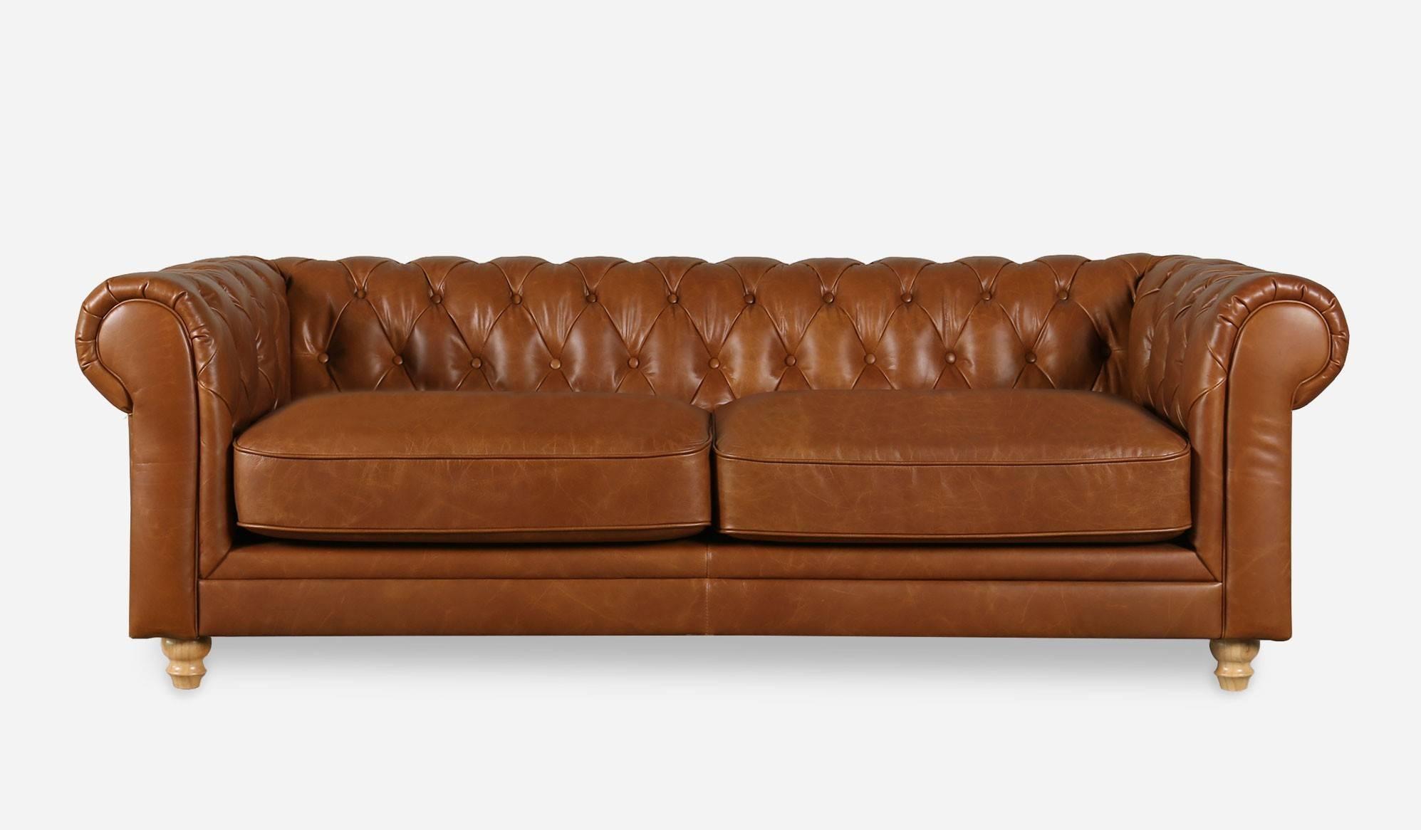 Sofas Center : Impressive Chesterfield Sofa Leather Image In Leather Chesterfield Sofas (Image 23 of 30)