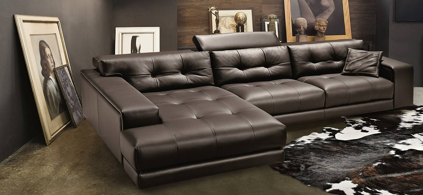 Sofas Center : Leather And Fabric Sofa Recliner Together with regard to Leather and Material Sofas (Image 24 of 30)