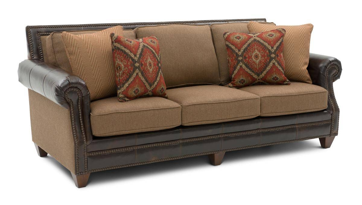 Sofas Center : Leather And Fabric Sofas With Sofa Set 46 within Leather And Material Sofas (Image 25 of 30)