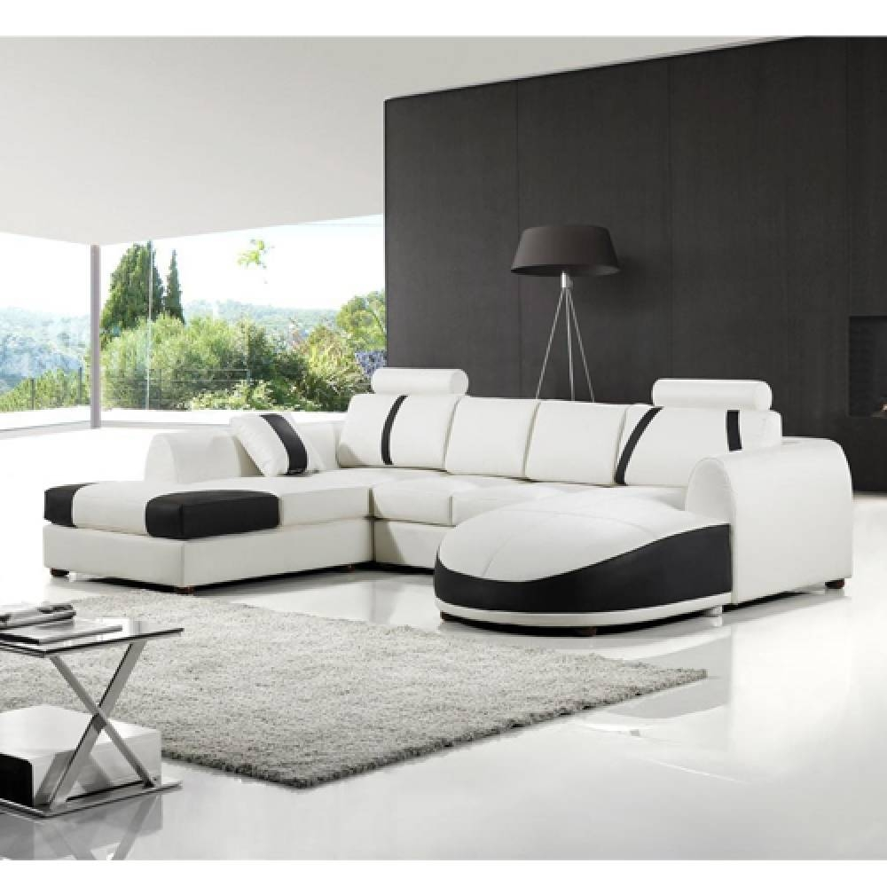 Sofas Center : Leather Sofa White Maxresdefault Black With Chaise inside Leather Storage Sofas (Image 26 of 30)