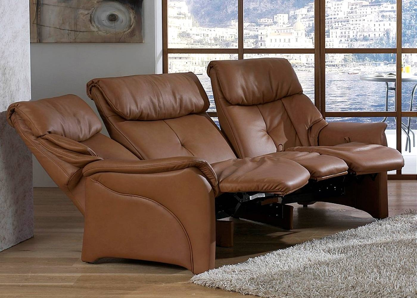 Featured Photo of Curved Recliner Sofa