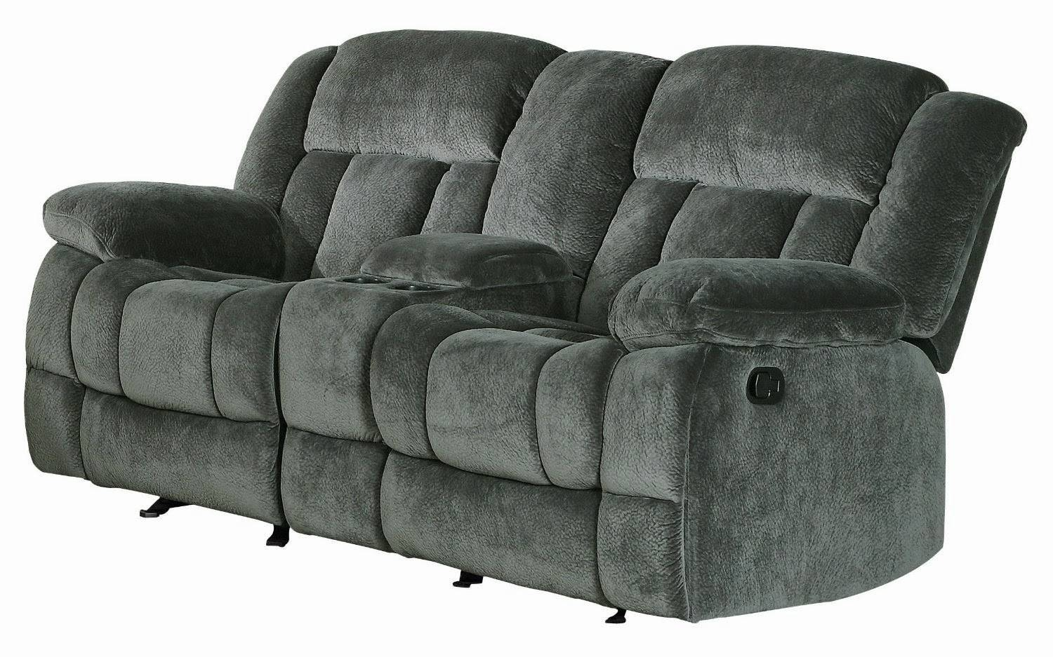 Sofas Center : Magnificent Reclining Sofath Console Images Concept Pertaining To Sofas With Consoles (View 13 of 30)