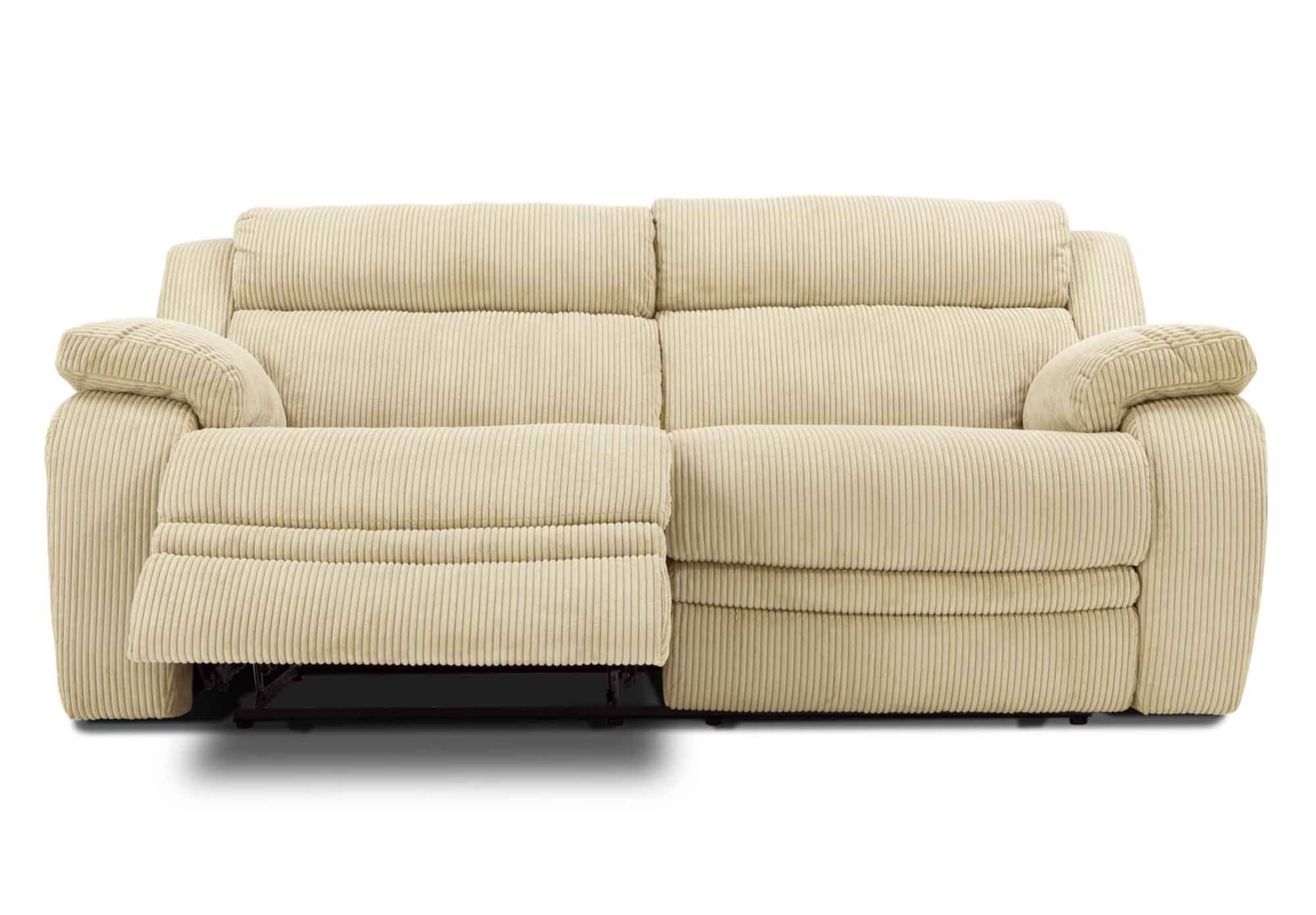 Sofas Center : Modern Reclining Sofa Sand Microfiber Seater intended for 2 Seat Recliner Sofas (Image 21 of 30)