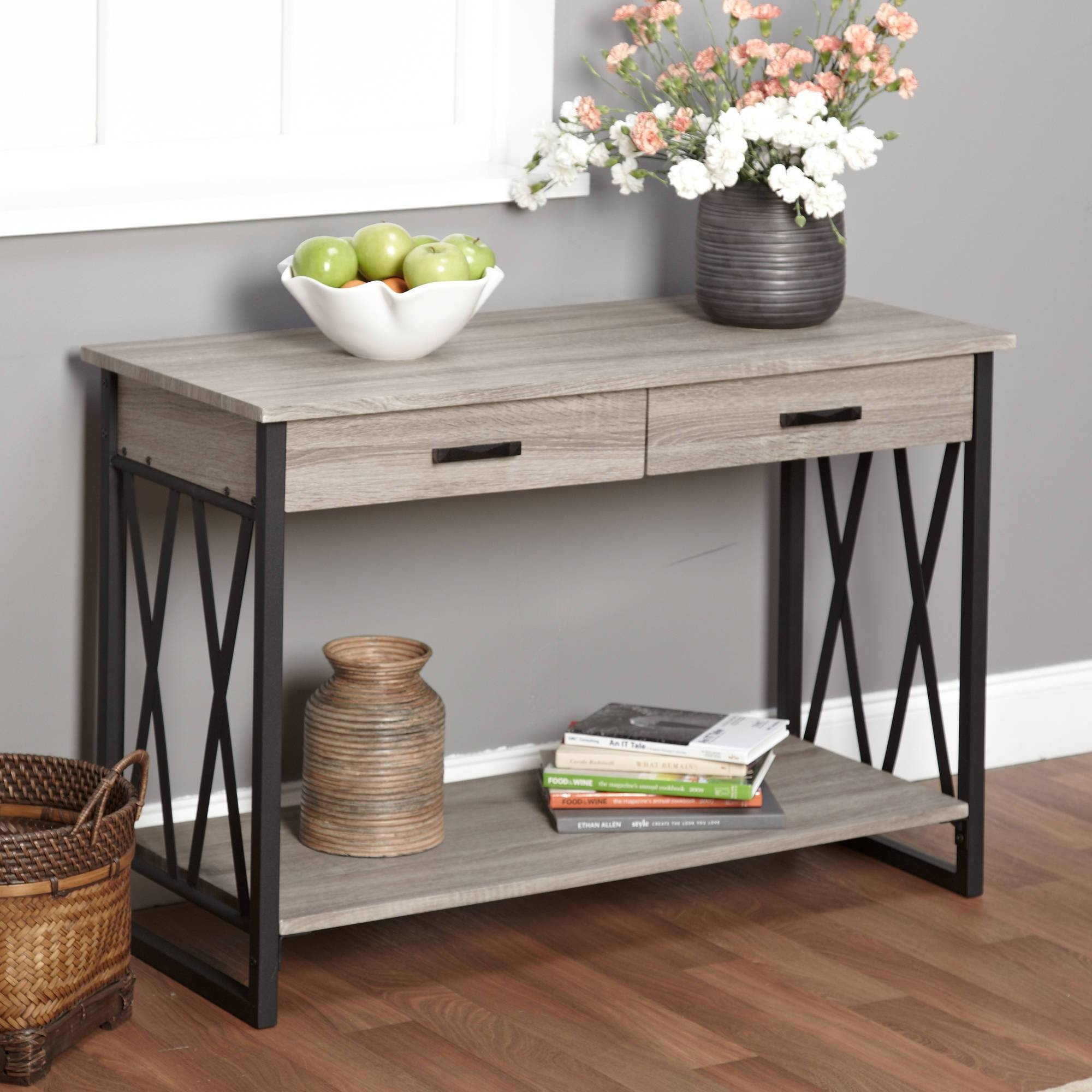 Sofas Center : Narrow Sofa Console Tables Rustic And within Sofas With Consoles (Image 17 of 30)