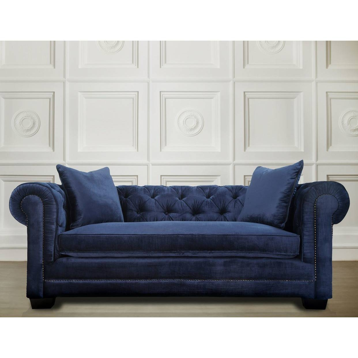 Sofas Center : Navy Blue Couch Ever Since I Started Our Living pertaining to Dark Blue Sofas (Image 27 of 30)