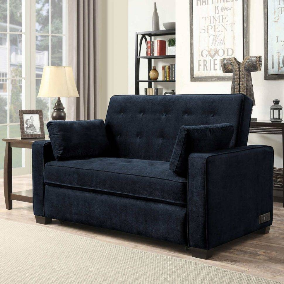 Sofas Center : Navy Blue Sleeper Sofa Trend For Table Ideas With intended for Sofa Trend (Image 17 of 25)