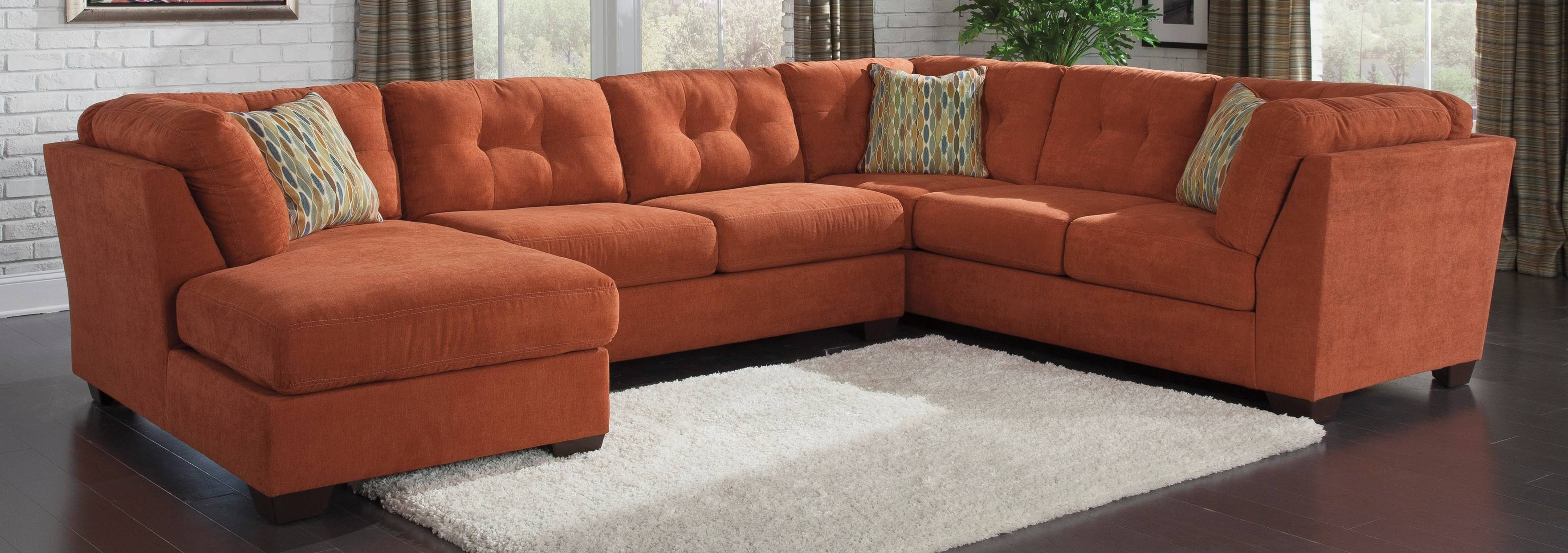 Sofas Center : Orange Sectional Sofa Edra Striking Photos Ideas throughout Orange Sectional Sofa (Image 30 of 30)