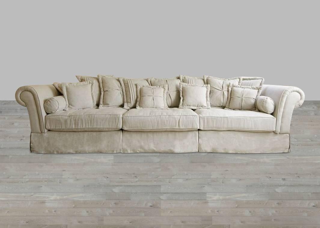 Sofas Center : Oversized Sofa Slipcover Beige Slipcovers For pertaining to Large Sofa Slipcovers (Image 21 of 30)