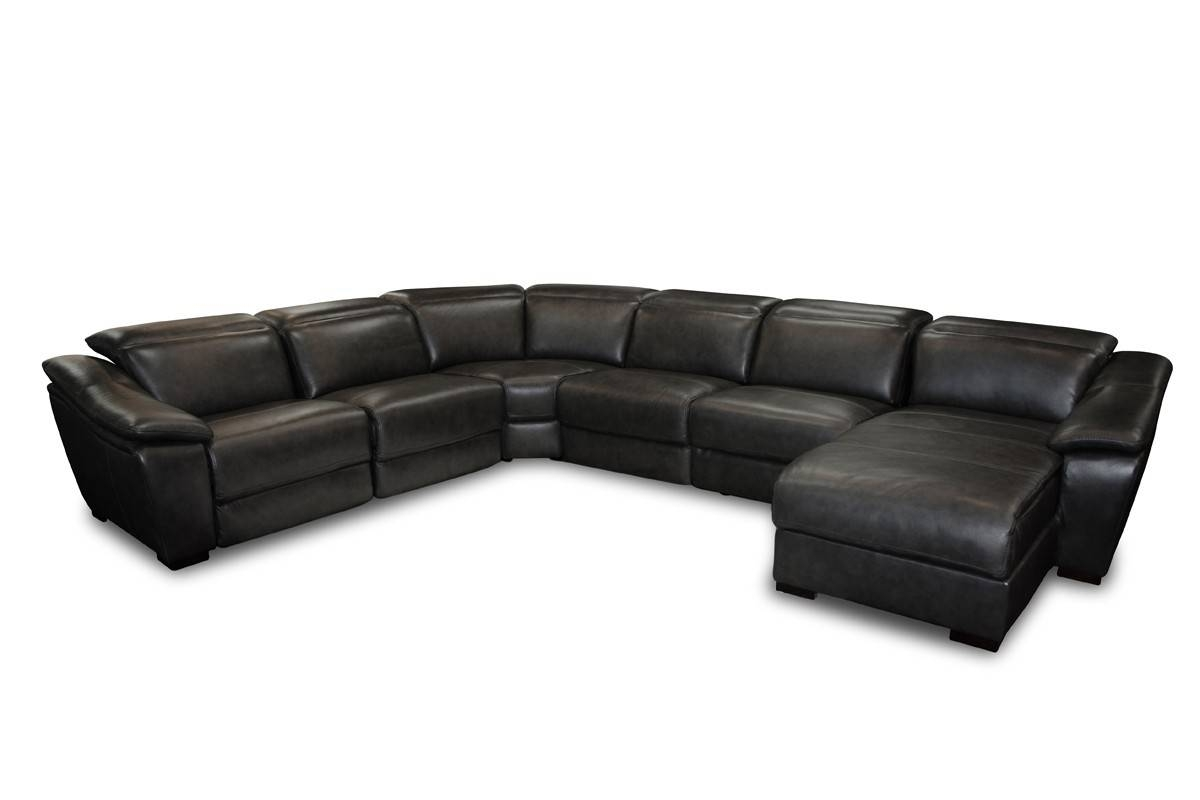 Sofas Center : Prettyck Semi Leather Sectional L Shaped Couch throughout Dobson Sectional Sofa (Image 28 of 30)