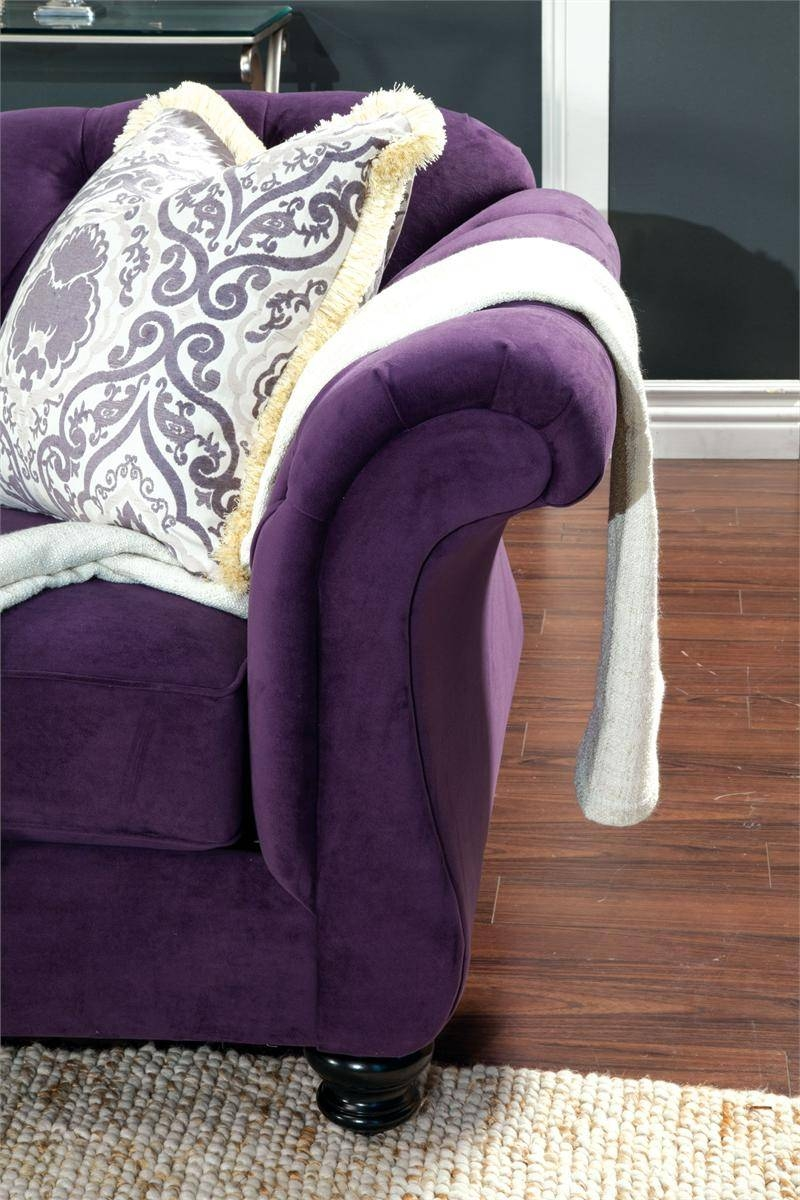 Sofas Center : Purple Sofa Furniture Best Ideas On Pinterest Set with regard to Eggplant Sectional Sofa (Image 28 of 30)