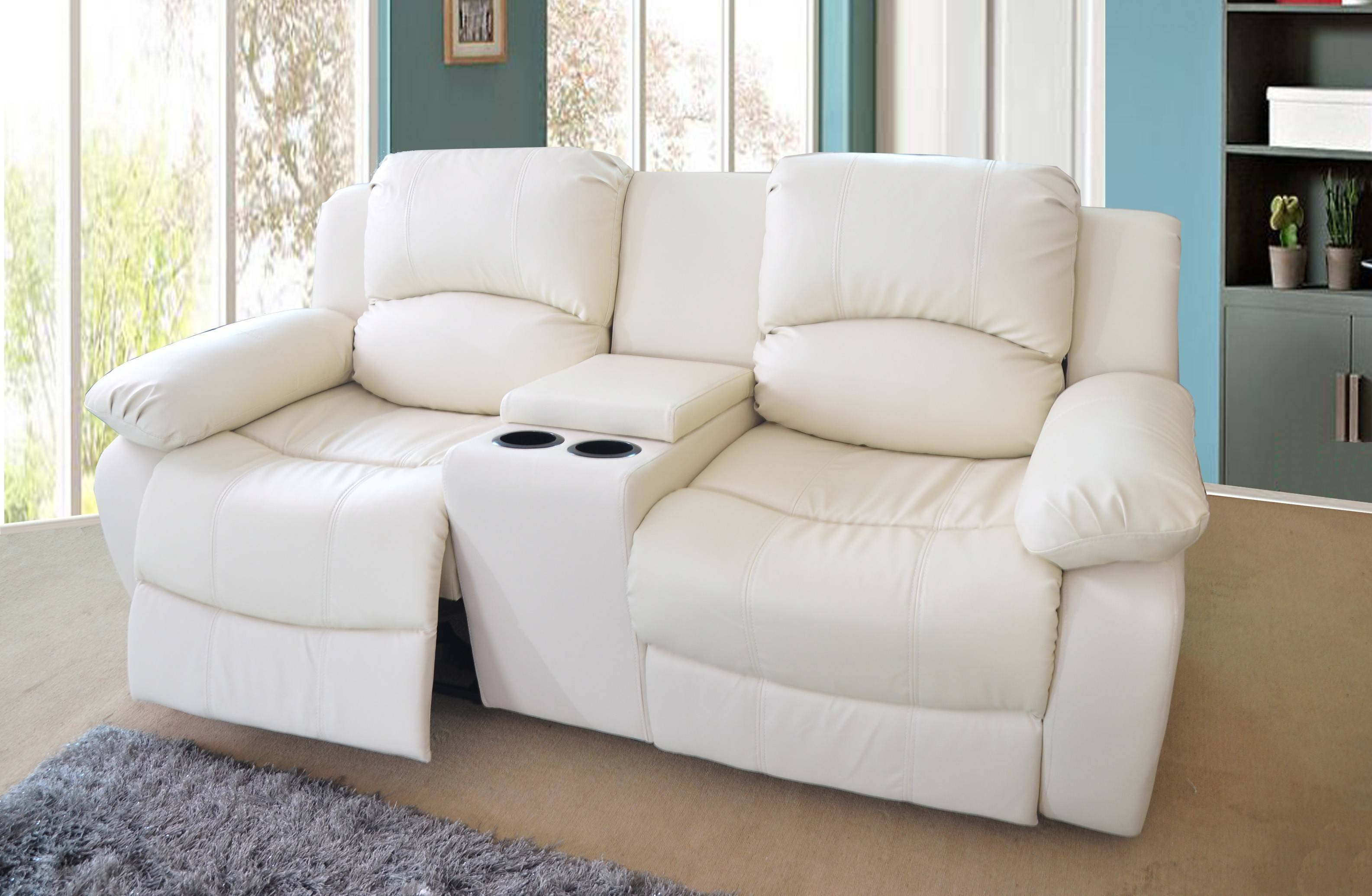Sofas Center : Reclining Sofa With Console Magnificent Images For Sofas With Consoles (View 20 of 30)
