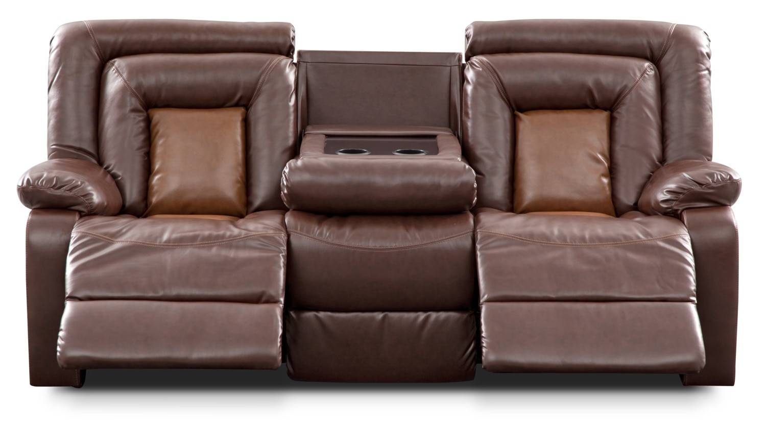 Sofas Center : Reclining Sofa With Console Tony Home Theatre intended for Sofas With Consoles (Image 23 of 30)