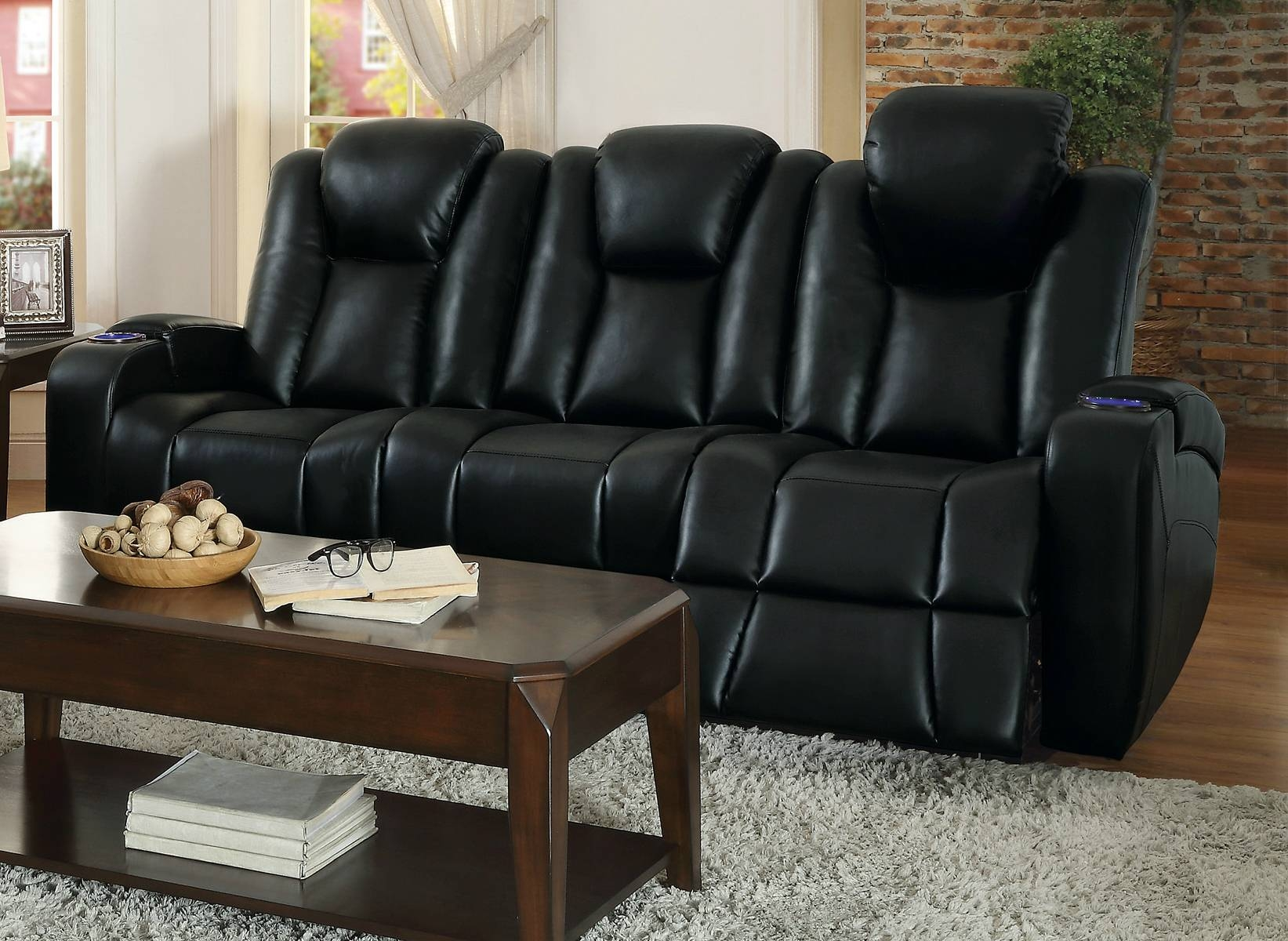 Sofas Center : Reclining Sofas With Consoles Dual Sofa Center in Sofas With Consoles (Image 25 of 30)