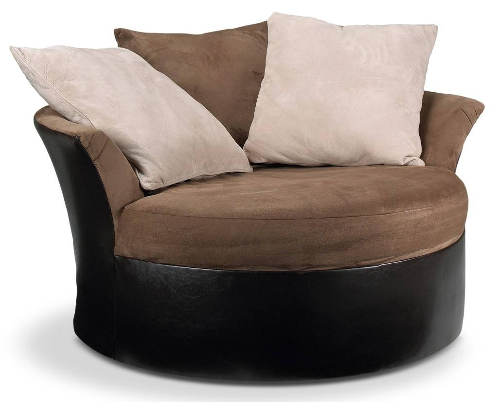 Sofas Center : Round Sofa Chair For Saleshley Furniture Big Large intended for Big Sofa Chairs (Image 24 of 30)