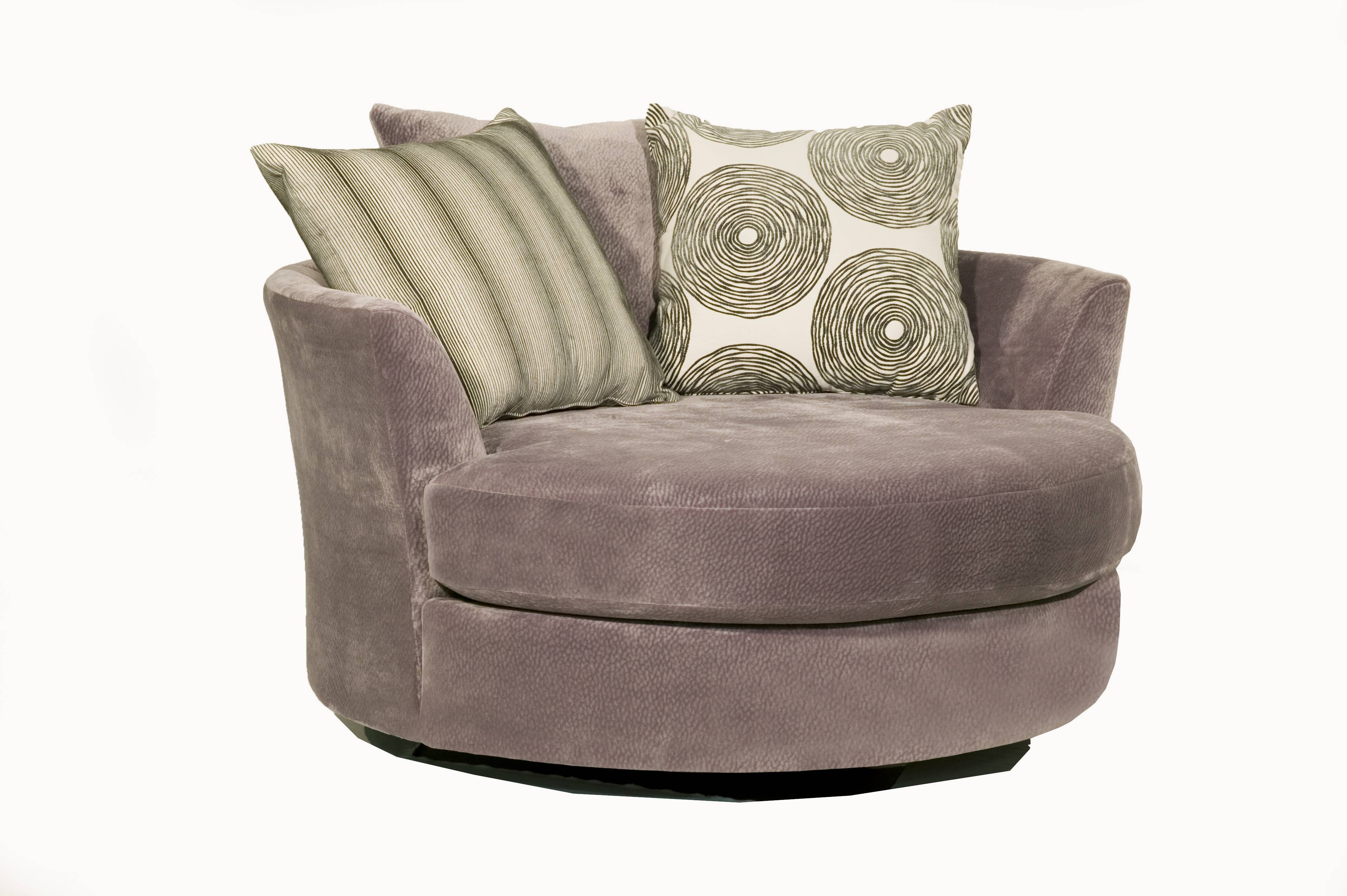 Sofas Center : Round Sofa Chair Furniture Swivel And Oversized for Large Sofa Chairs (Image 24 of 30)