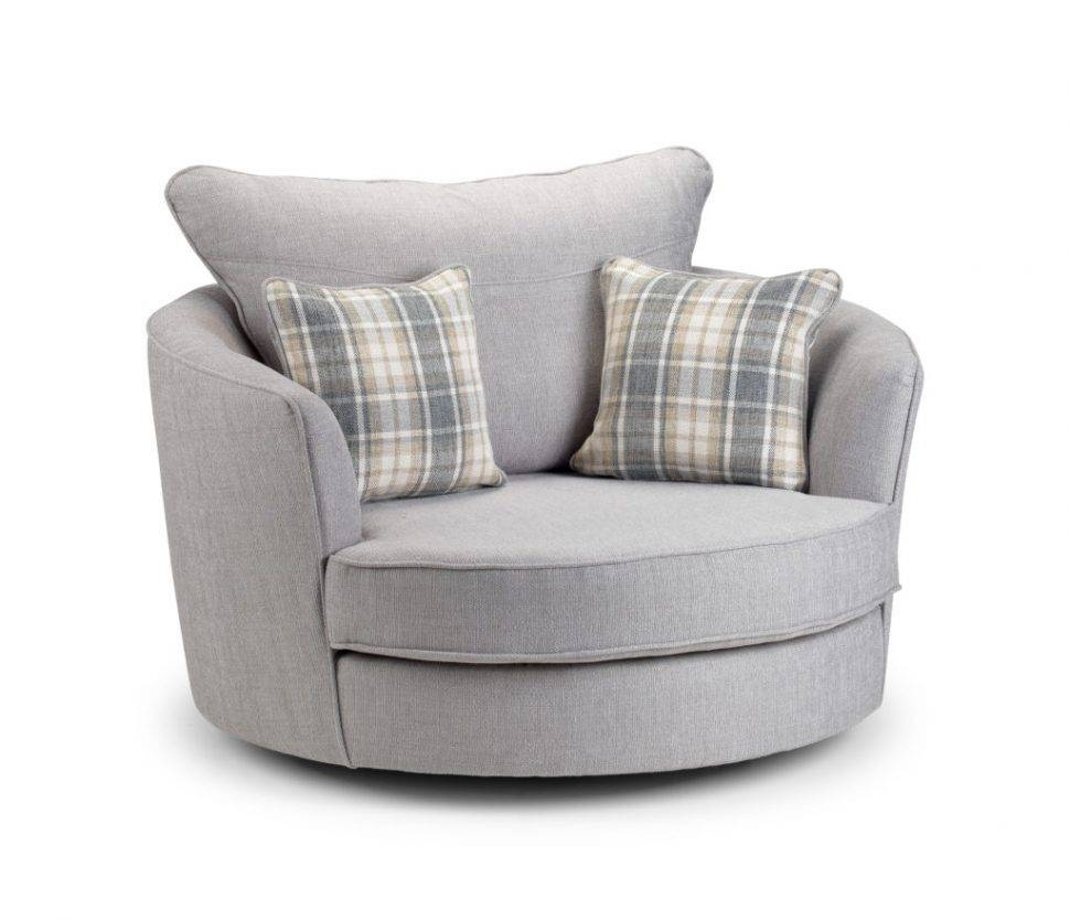 Sofas Center : Round Swivel Cuddle Chair Slipcover Home Designs with Spinning Sofa Chairs (Image 23 of 30)