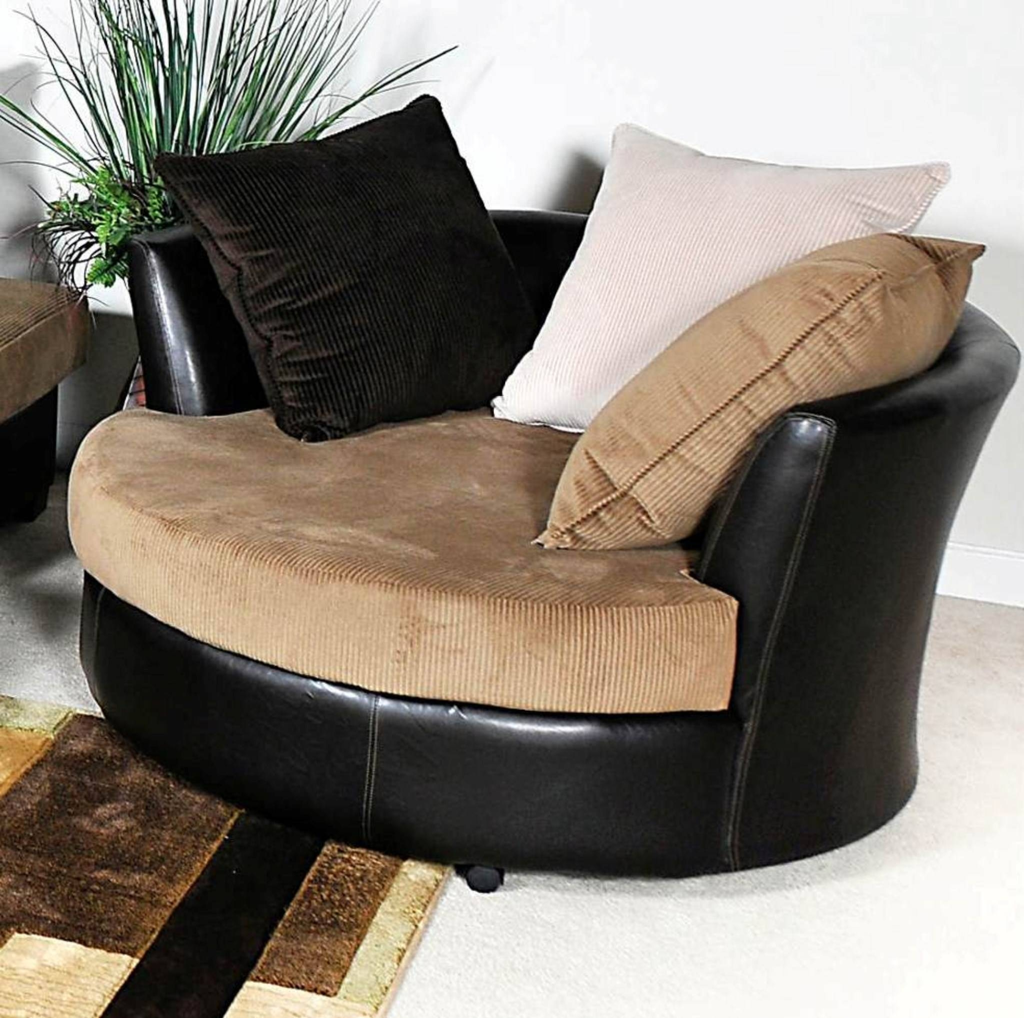 Sofas Center : Roundivel Chair Living Room Sofa And Setround inside Round Sofa Chair Living Room Furniture (Image 27 of 30)