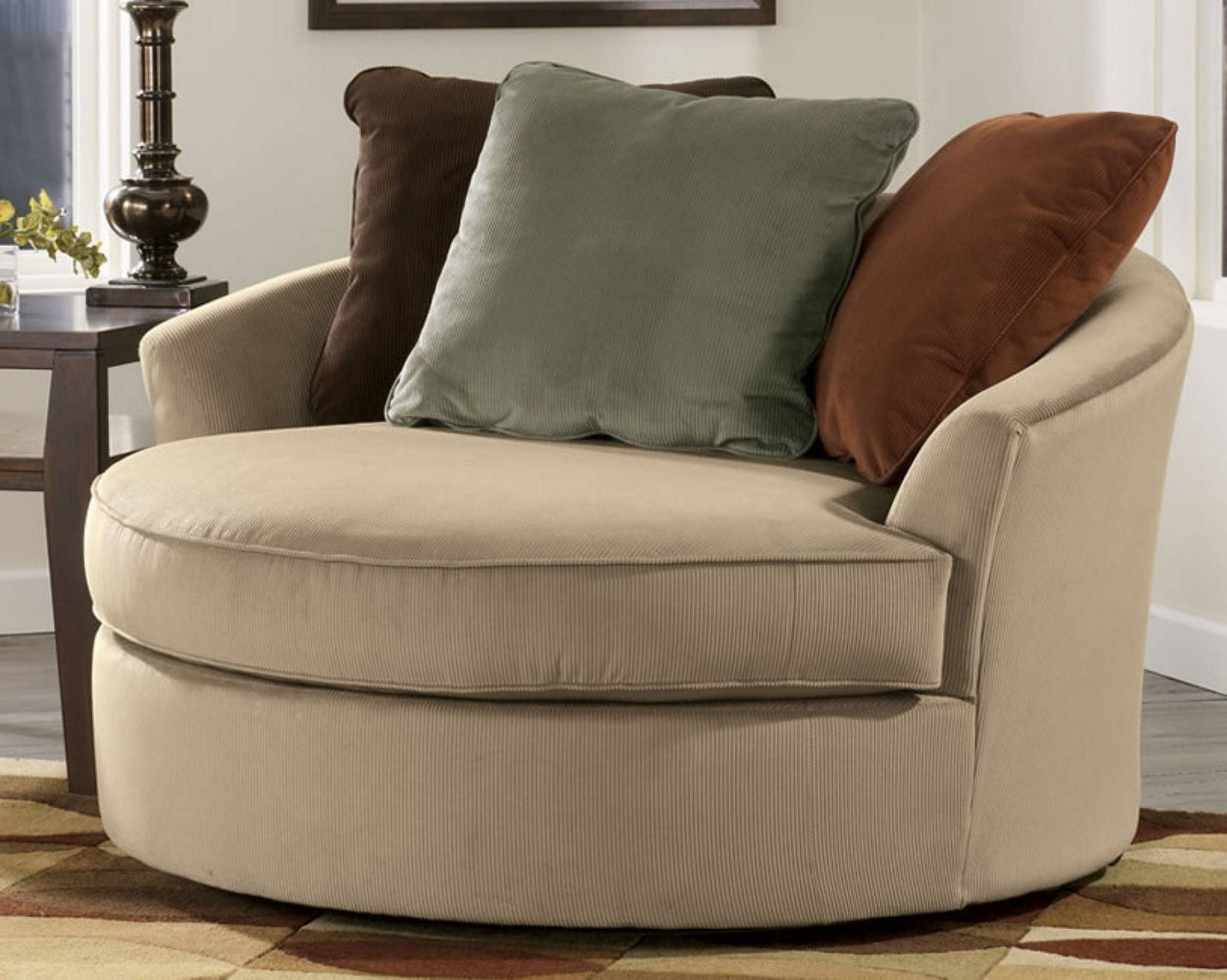 Sofas Center : Shocking Round Sofa Chair Picture Concept Modern In with regard to Round Sofa Chair Living Room Furniture (Image 29 of 30)