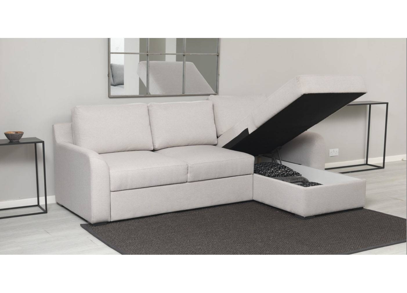 Sofas Center : Small Corner Sofa With Storage Sofas Decoration regarding Storage Sofa Beds (Image 25 of 30)