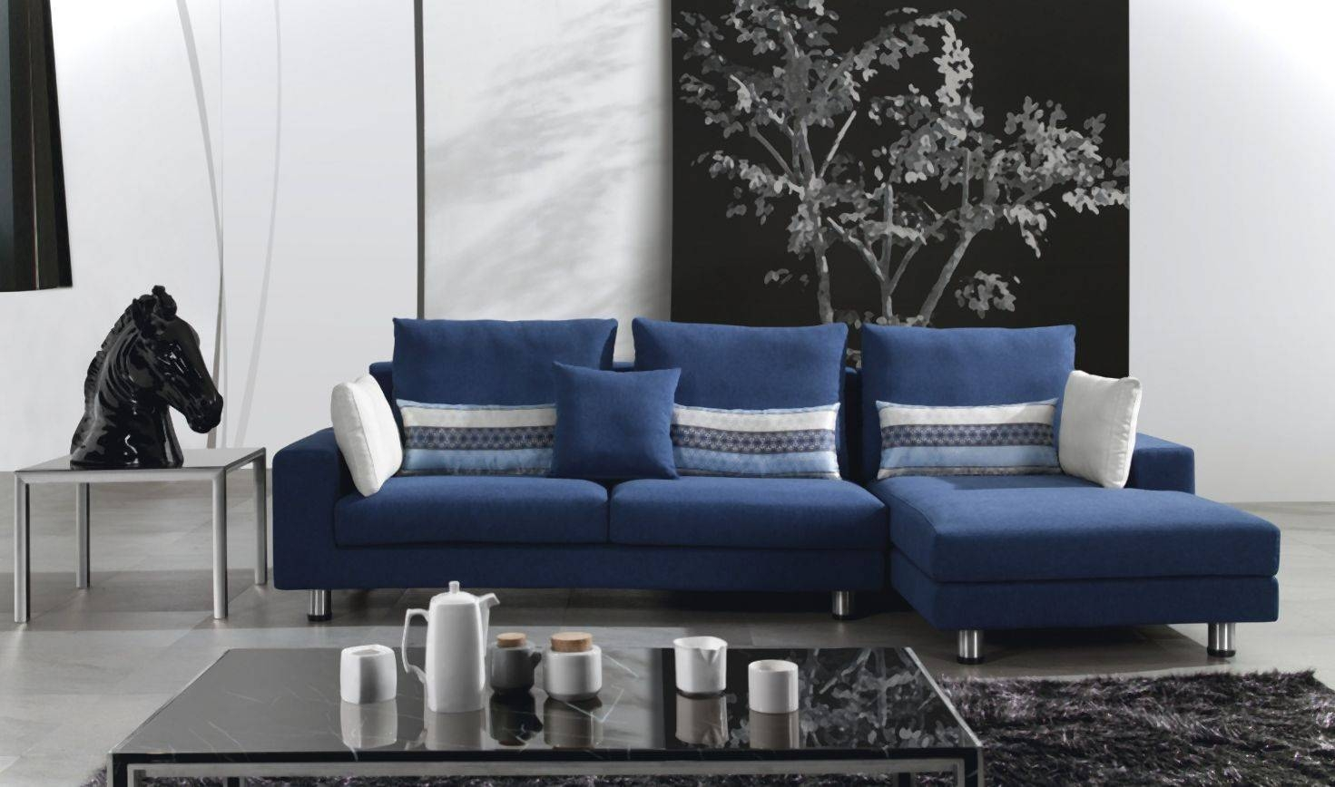 Sofas Center : Sofa Astonishing Navy Blue Set Design Dark Amusing for Dark Blue Sofas (Image 29 of 30)