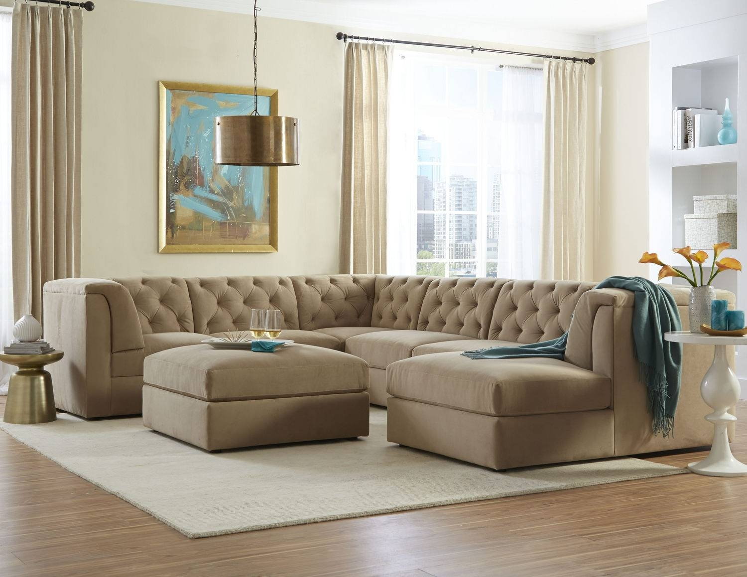 Sofas Center : Stupendous Piece Sectional Sofa Photos Design regarding 6 Piece Leather Sectional Sofa (Image 27 of 30)