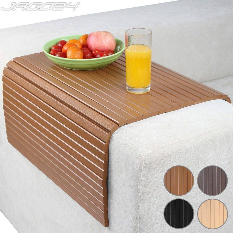 Sofas Center : Surprisingfa Snack Table Photo Design Arm Rest Tray intended for Sofa Snack Tray Table (Image 26 of 30)