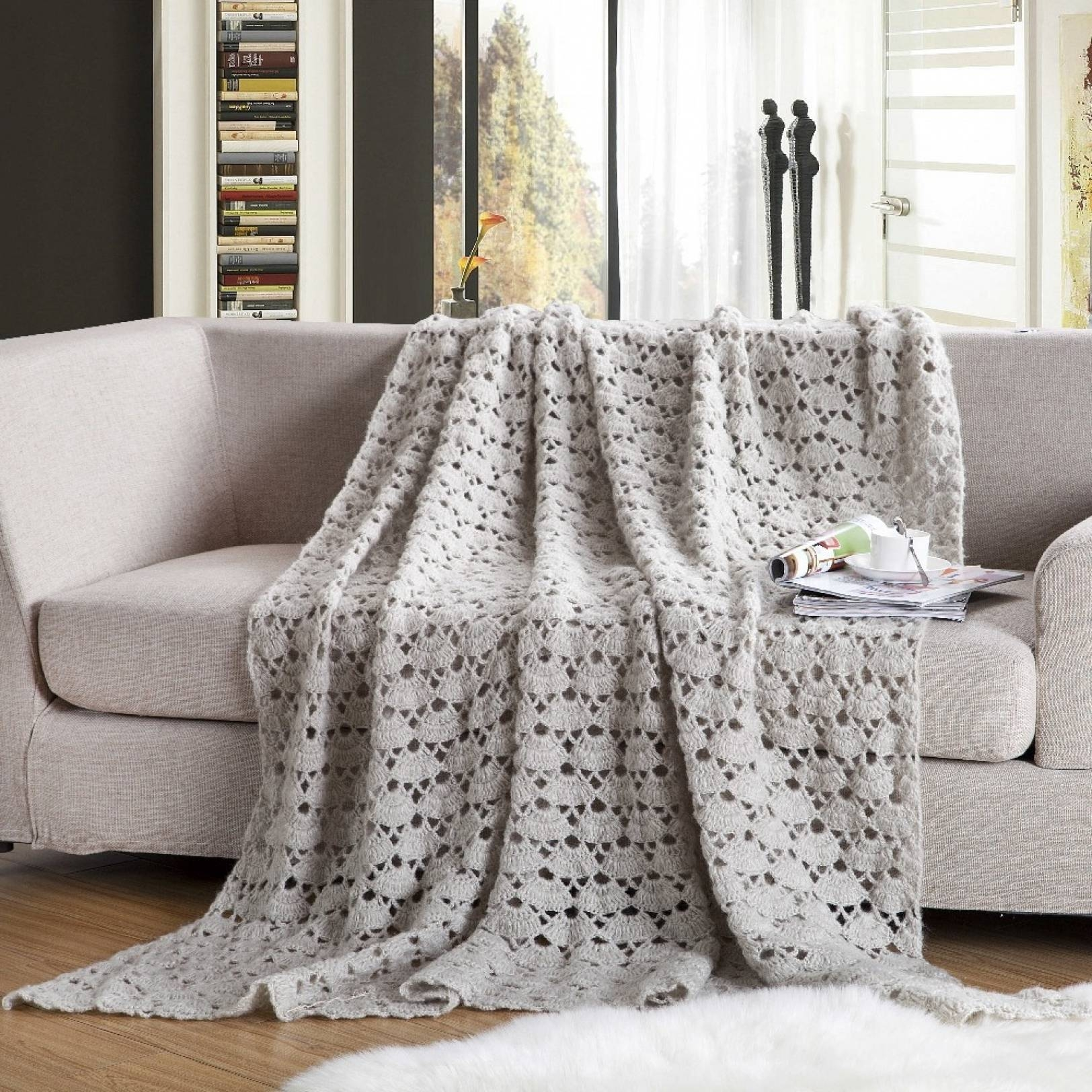 Sofas Center : Surprisingw Blankets For Sofa Photos Design Best for Cotton Throws For Sofas And Chairs (Image 24 of 30)