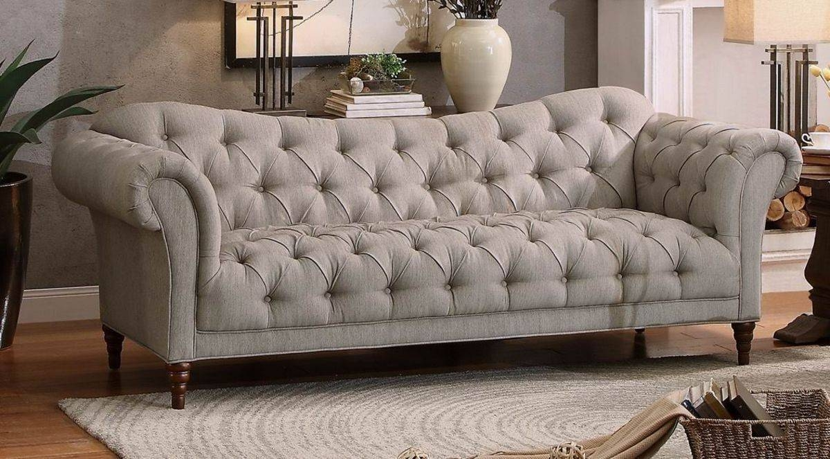 Sofas Center : Tufted Rolled Arm Sofa For Sale White Sofatufted within Traditional Sofas for Sale (Image 23 of 30)