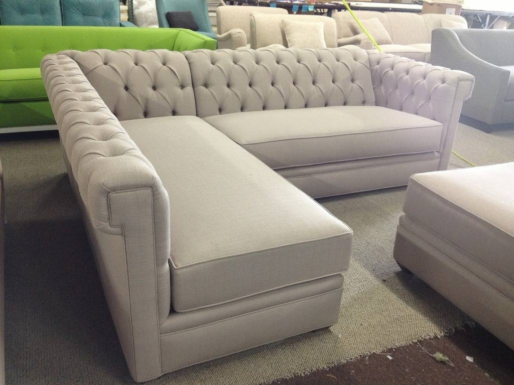 Sofas Center : Tufted Sectional Sofa With Chaise Leather Sofas Set in Tufted Sectional Sofa Chaise (Image 20 of 25)