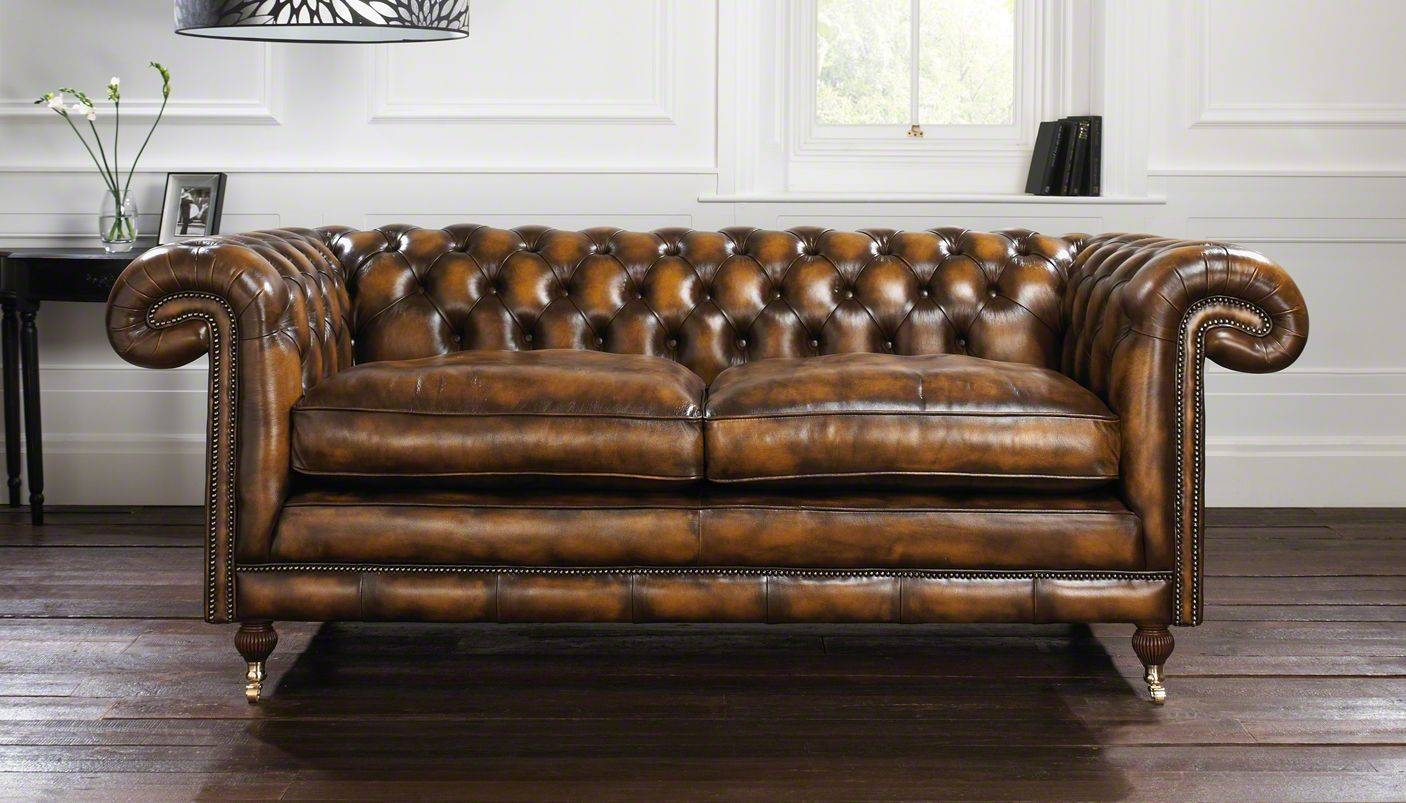 Sofas Center : Vintage Black Leather Chesterfield Sofavintage Sofa in Vintage Chesterfield Sofas (Image 9 of 30)