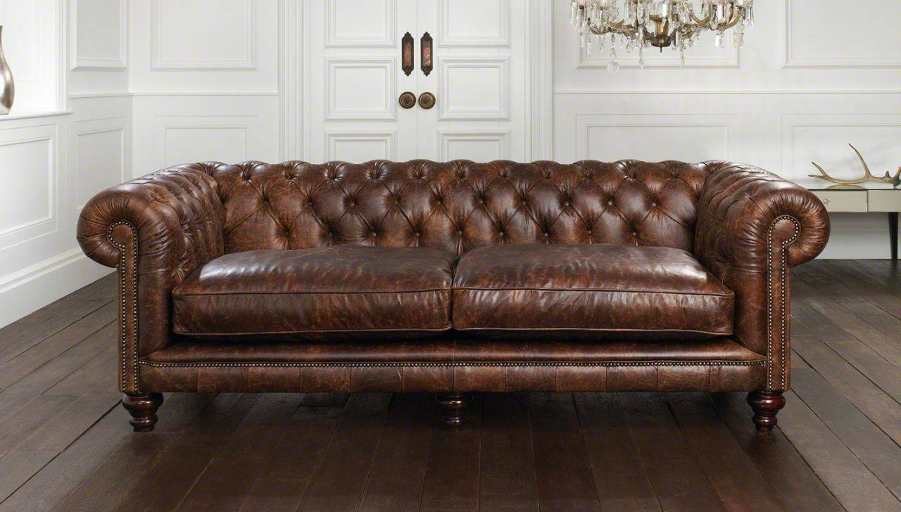 Sofas Center : Vintage Chesterfield Sofa Innovation Oldschool for Vintage Chesterfield Sofas (Image 10 of 30)