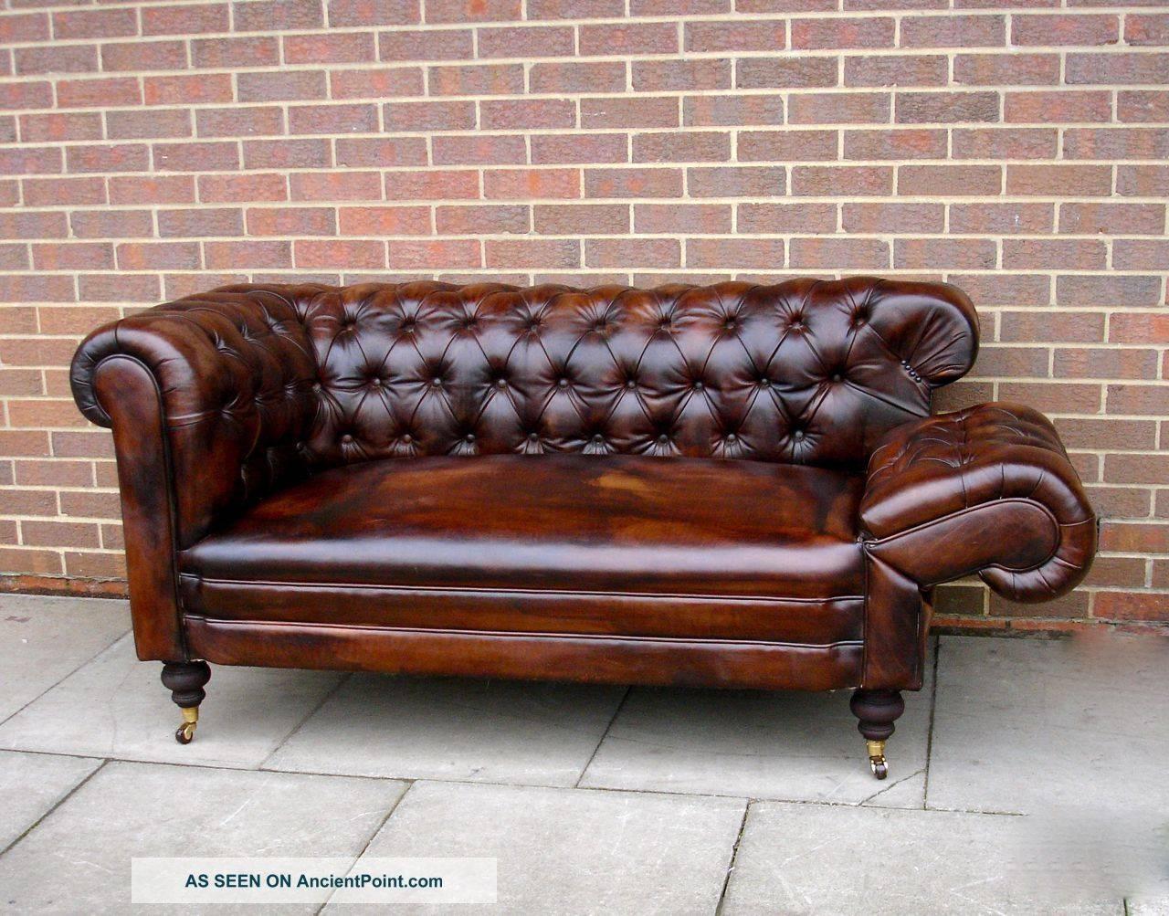 Sofas Center : Vintage Schafer Bros Chesterfield Sofa Chairish within Vintage Chesterfield Sofas (Image 11 of 30)